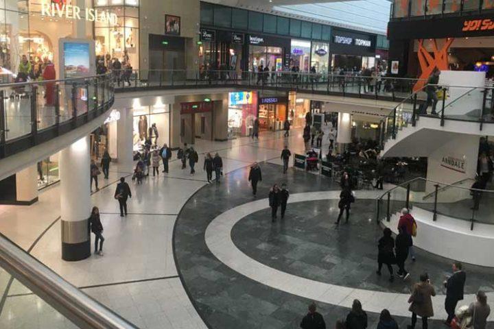 Winkelcentrum Manchester