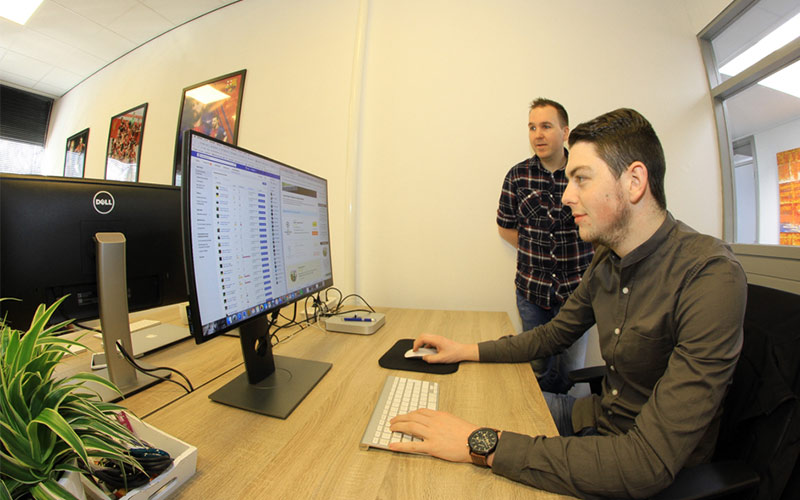 VoetbalticketXpert kantoor